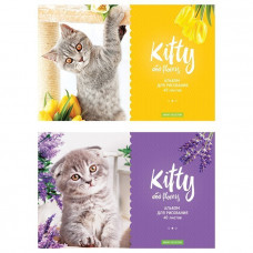 Альбом д/рис. 40 л. Kitty & Flower А40_20263 ArtSpace