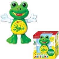Муз.игрушка Танцующая Лягушка 4680019285474/4680019281797