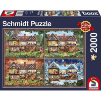 Пазл 2000 Четыре сезона 58345 Schmidt
