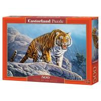 Пазл 500 Тигр на горе В-53346 Castor Land