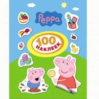 Наклейки 4680274009174 Свинка Пеппа 100 наклеек
