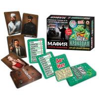 Игра Игра Мафия Ночное безмолвие +Пати-крокодил 2 в 1 03730