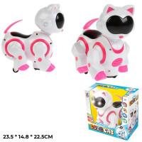 Игрушка на бат. 8211 Кот Роберт свет, звук, в кор.