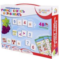 Игра Развивающий набор на магнитах.Учимся считать и сравнивать ИН-7627 BRIGHT KIDS