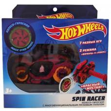 Hot Wheels Spin Racer Красный Мустанг пуск. механизм с диском, 16 см, красн. Т19372