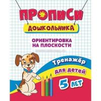 Книга 4680088300511 Тренажёр. Ориентировка на плоскости: для детей 5 лет