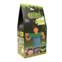 Лизун Slime Набор малый для мальчиков Лаборатория,зеленый100гр. SS100-4