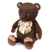 Романтичный Медвежонок с бежевым бантиком 20 см в кор.MT-GU092018-8-20