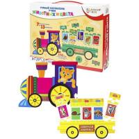 Игра BRIGHT KIDS.Умный паровозик.Учим животных и цвета ИН-7636