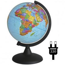 Глобус политич. 210мм с подсветкой 10023