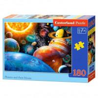 Пазл 180 Планеты и спутники В1-018345 Castor Land