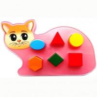 Логич.игрушка Котик 2С465