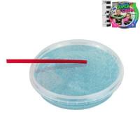 Лизун Слайм с голубыми блестками 160гр. Super Слайм