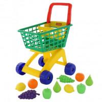Тележка для маркета+набор продуктов №7 61911 П-Е /2/