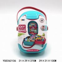 Игровой набор 8772 Магазин с кассой и аксесс. в чемодане