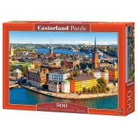 Пазл 500 Стокгольм В-52790 Castor Land