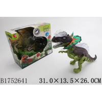 Динозавр 04-KQX на бат. звук, подсветка, в кор.