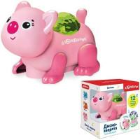 Свинка Диско-зверята 4680019284606 Светло-розовая