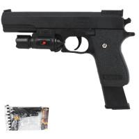 Пистолет IT102253 пневм. с лезерным прицелом в пак.