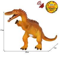 Игрушка на бат. Динозавр Звук – рёв животного, эластичная поверхность JB0208308
