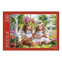 Пазл 500 Два ангела в саду Ф500-5140