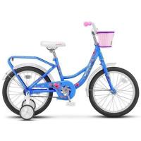 "Велосипед 2-х 18"" Flyte Lady голубой Z011 /STELS/"