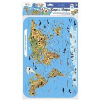 Игра Магнитная Карта мира. Животные. Достопримечательности 03865