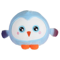 Squishimals Пингвин голубой плюш 20см 1toy Т14349