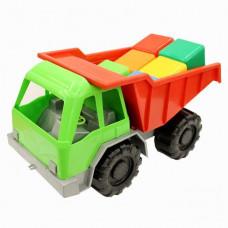 Автомобиль Грузовик+кубики 3-282 Кассон