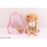 Кукла 5509 Алина в рюкзаке