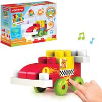 Игрушка музыкальная Гоночная машинка Talky Blocks кнопочка 4630027291745