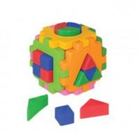 Логич.игрушка Куб умный малыш Логика №2 Т2469 /интелком/24