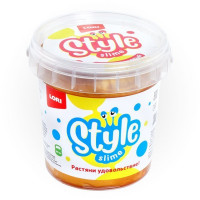 Лизун STYLE SLIME перламутровый Золотой с ароматом банана 150мл. Сл-006 LORI