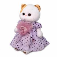 Ли-Ли Кошечка в нежно-сиреневом платье LK24-056