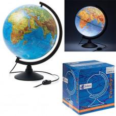 Глобус физич. 320мм К013200017 классик подсветка