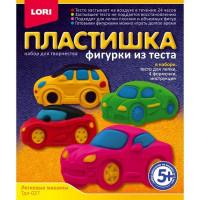 Набор ДТ Фигурки из теста Легковые машины Тдл-027 Lori