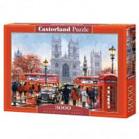 Пазл 3000 Вестминстерское аббатство С-300440 Castor Land