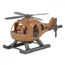 Вертолет военный Гром-Сафари в сетке.72351 П-Е /24/