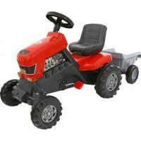 Каталка трактор с педалями+прицеп Turbo 52681 П-Е /1/