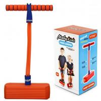 Moby-Jumper Тренажер для прыжков со звуком оранжевый 68552