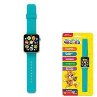 Часы муз. Голубые 4680019283500