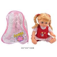 Кукла 7636 Алина в рюкзаке