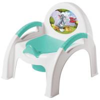 Горшок детский стульчик Том и Джерри зеленый 431308209