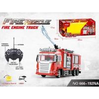 Пожарная машина р/у 666-192NА с водой в кор.
