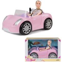 Кукла 8833 Sariel  в кабриолете в кор.