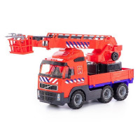 Автомобиль Volvo пожарный NL в сеточке 77301/П-Е/ /2/