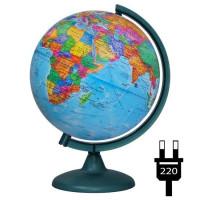 Глобус политич. 250мм с подсветкой 10164