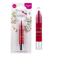 Помада-карандаш д.губ выдвижн 3,5 г., красный Т16765 LUCKY на блистере