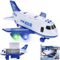 Самолет 660-А242 свет, звуковые эффекты  в  кор.