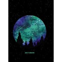 Скетчбук А5 466-5-303-51612-0 Звездное небо